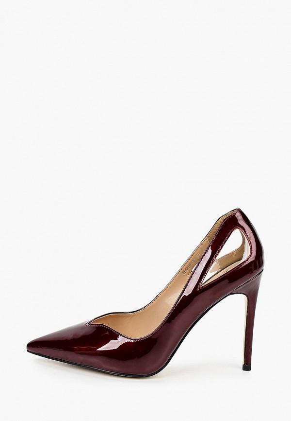 женские туфли winzor, бордовые