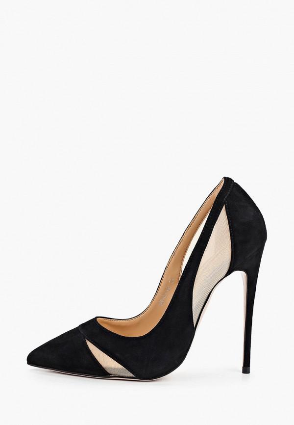 женские туфли winzor, черные