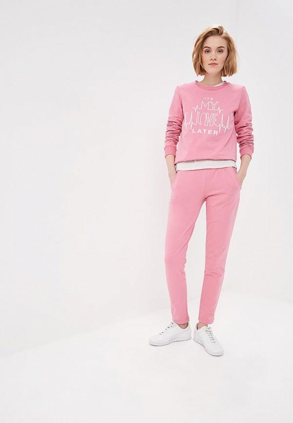 женский спортивные спортивный костюм winzor, розовый