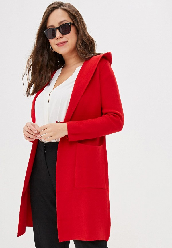женский кардиган winzor, красный