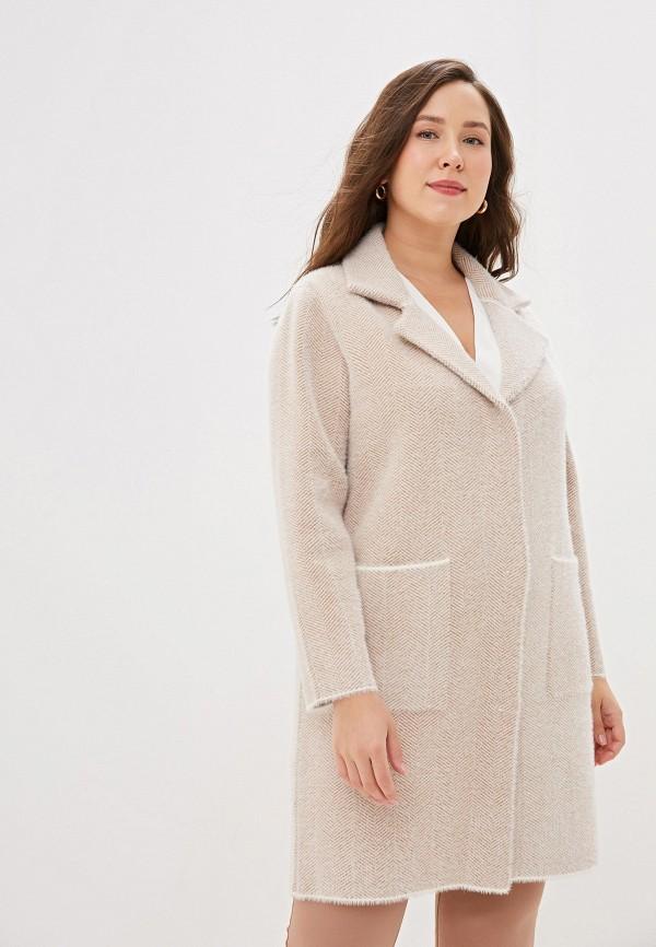 женское пальто winzor, бежевое