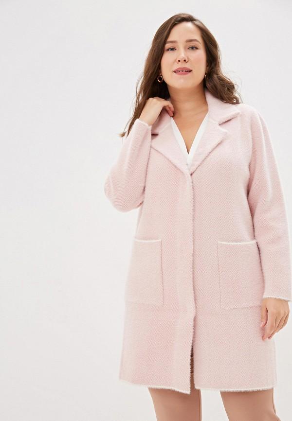 женское пальто winzor, розовое