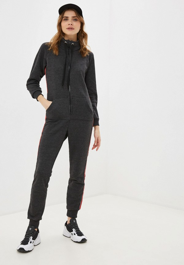 женский комбинезон с брюками winzor, серый