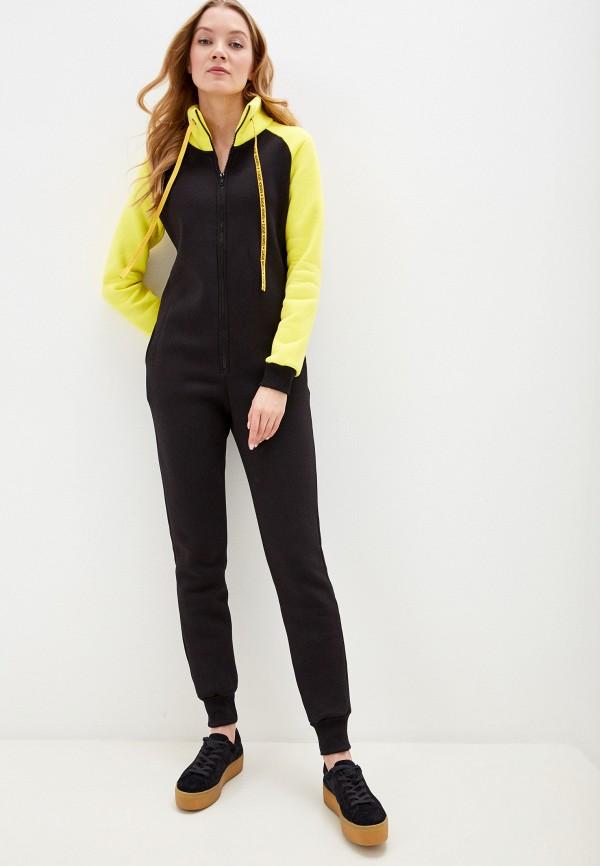 женский комбинезон с брюками winzor, желтый