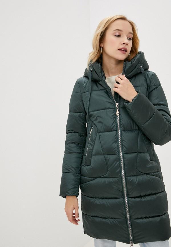 женская куртка winzor, зеленая