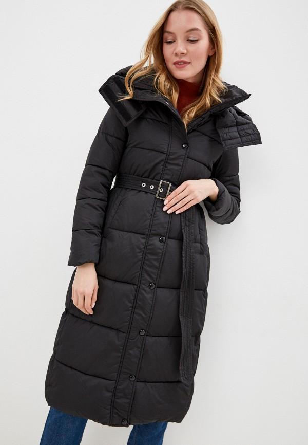 женская утепленные куртка winzor, черная