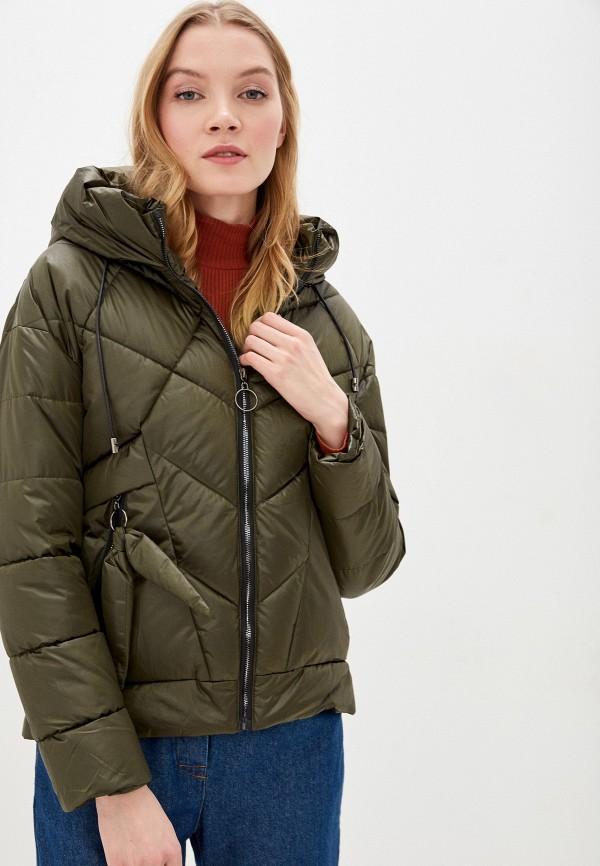 женская утепленные куртка winzor, хаки