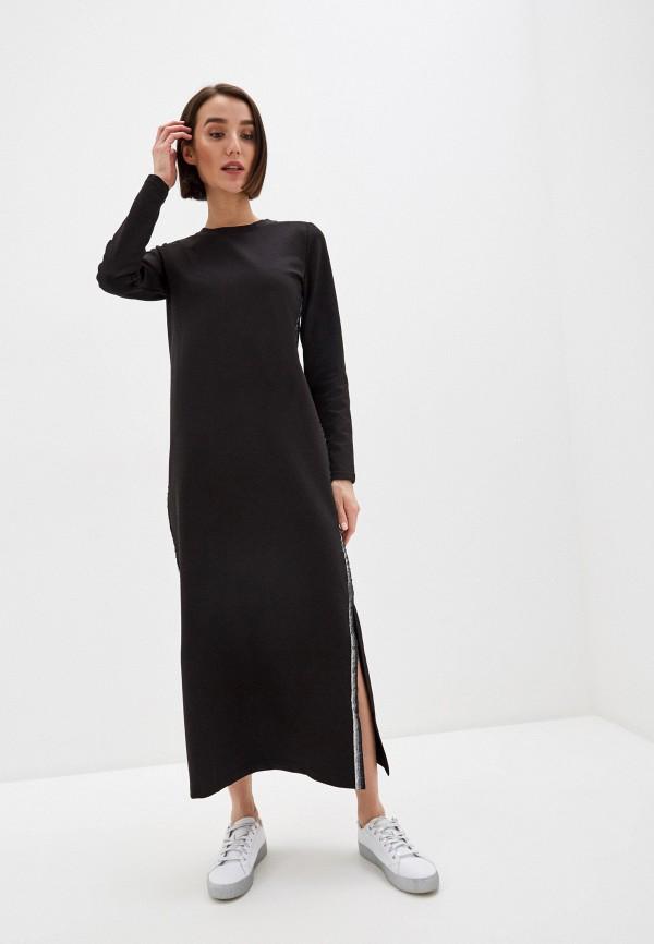 женское платье мини winzor, черное