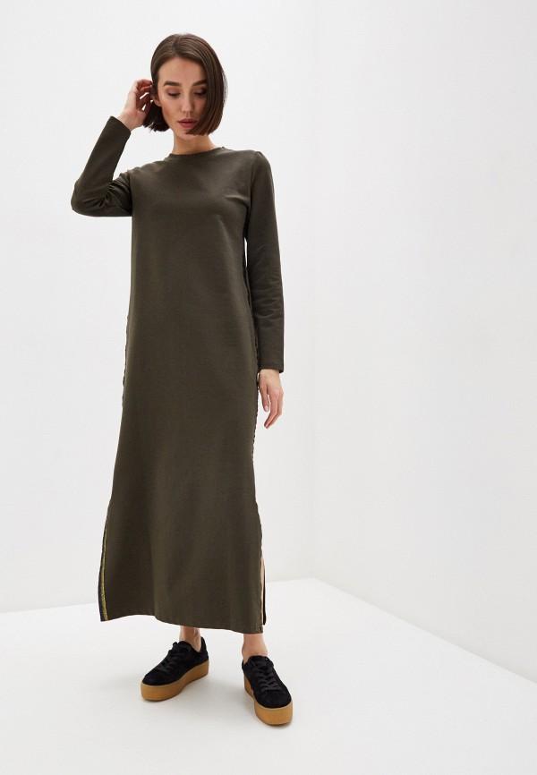 женское повседневные платье winzor, хаки
