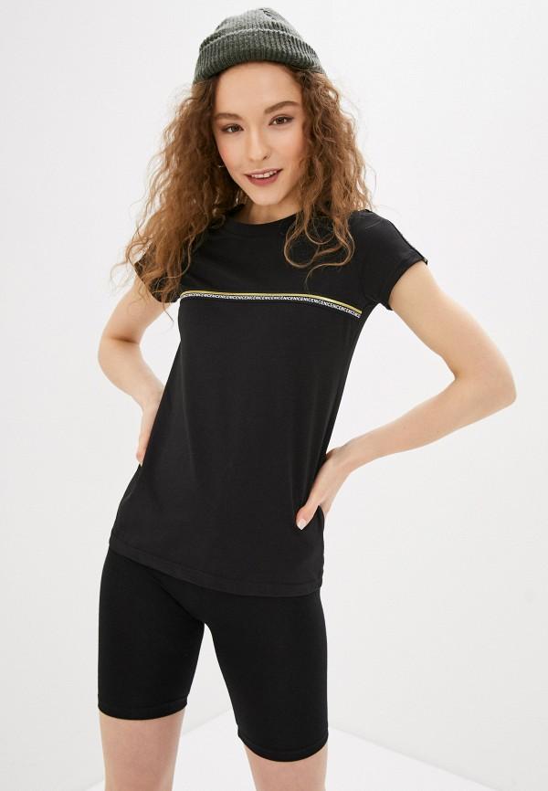 женская футболка winzor, черная