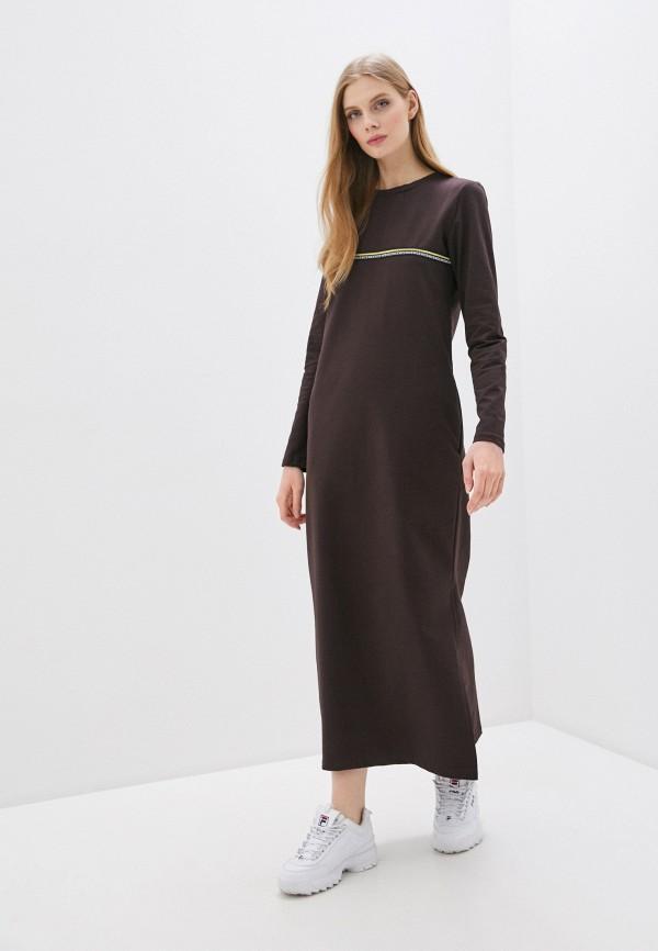 женское платье winzor, коричневое