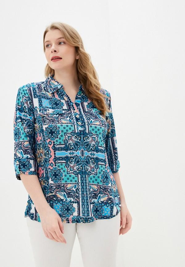 женская блузка winzor, синяя