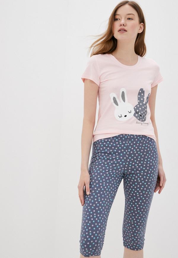женская пижама winzor, разноцветная