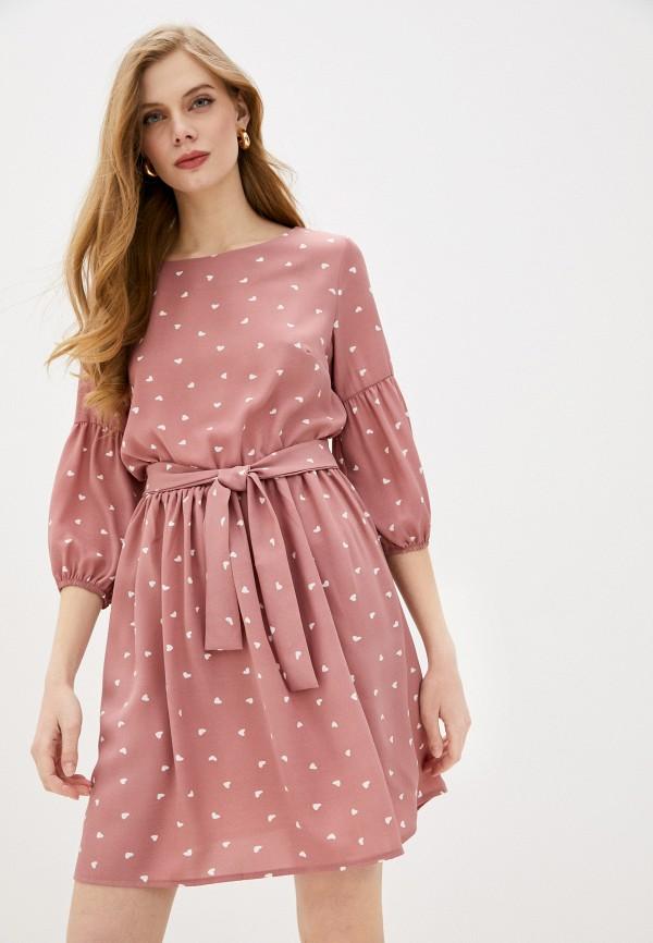 женское повседневные платье winzor, розовое