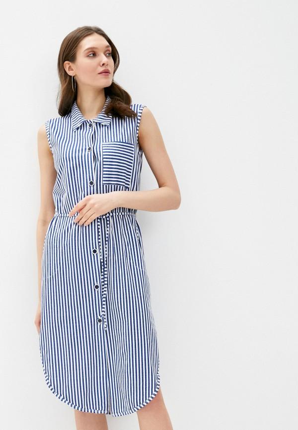 женское платье winzor, синее