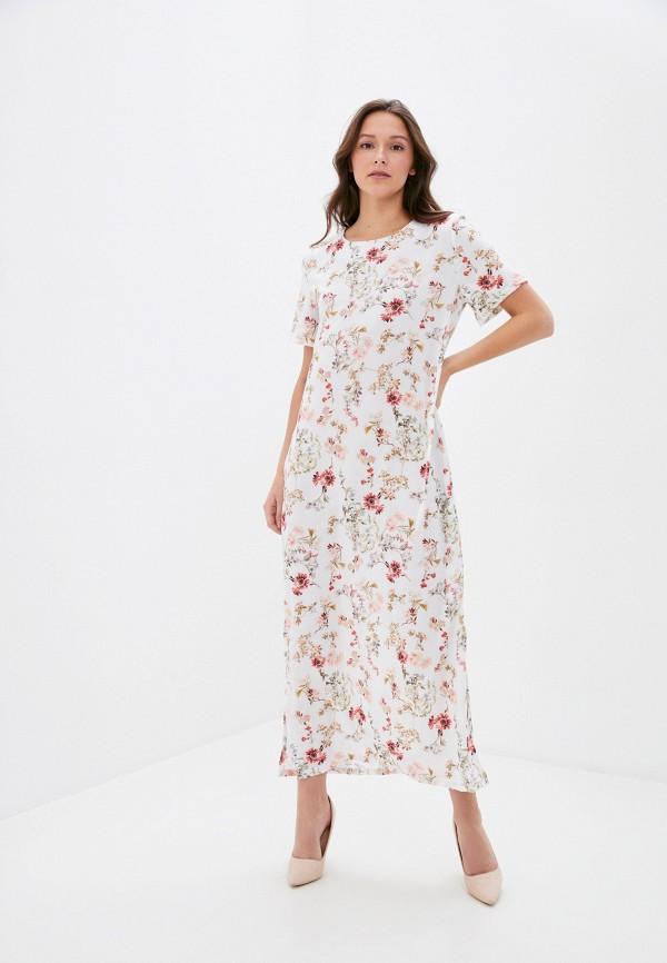 женское повседневные платье winzor, белое