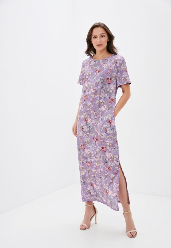 женское повседневные платье winzor, фиолетовое