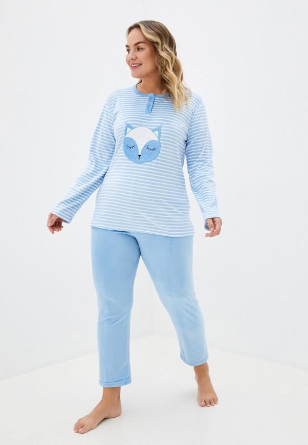 женский костюм winzor, голубой