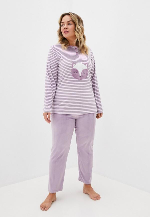 женский костюм winzor, фиолетовый