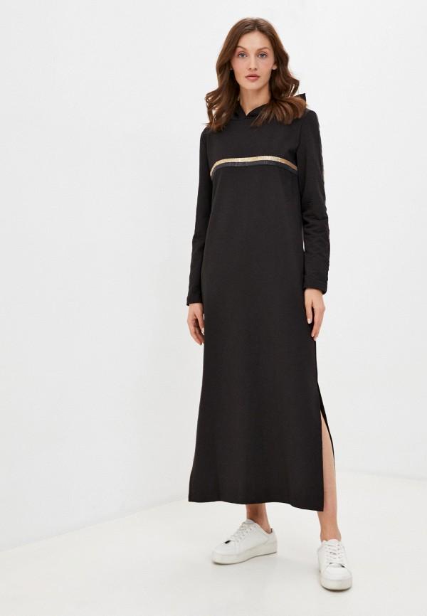 женское платье winzor, черное