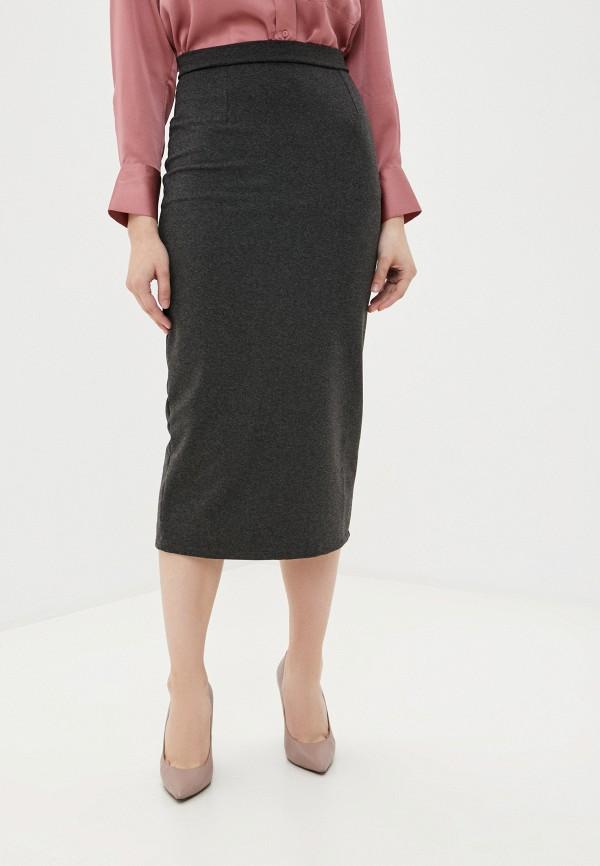 женская прямые юбка winzor, серая