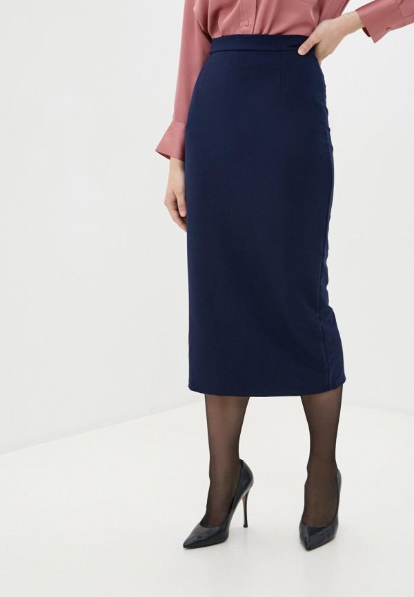 женская зауженные юбка winzor, синяя