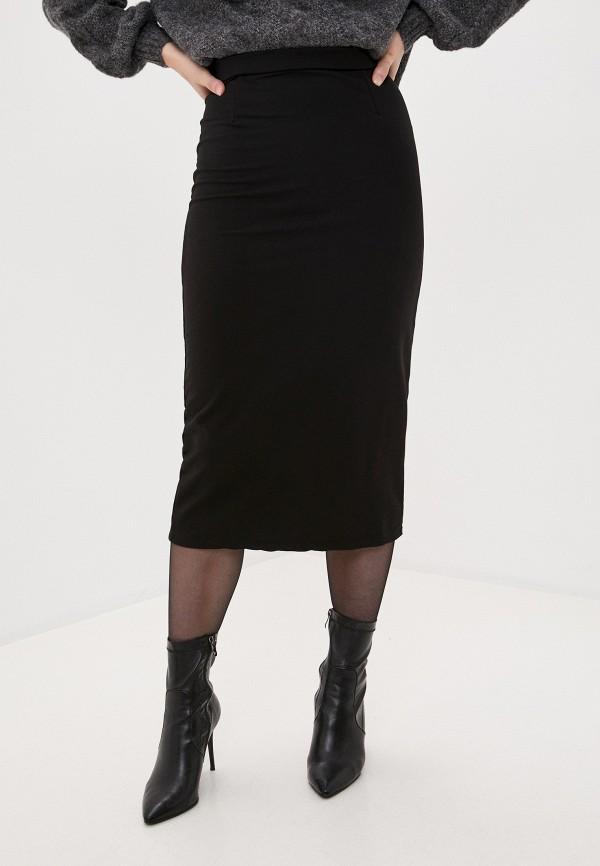 женская зауженные юбка winzor, черная