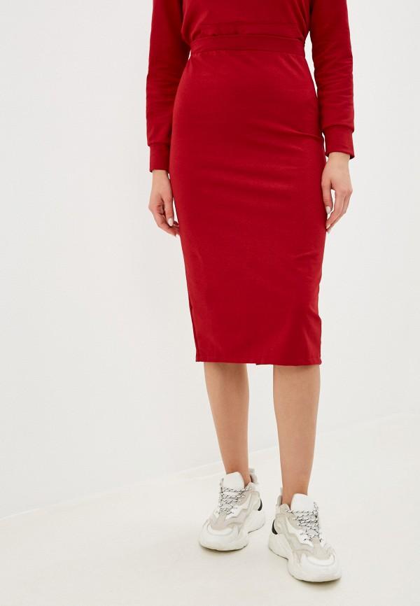 женская зауженные юбка winzor, красная
