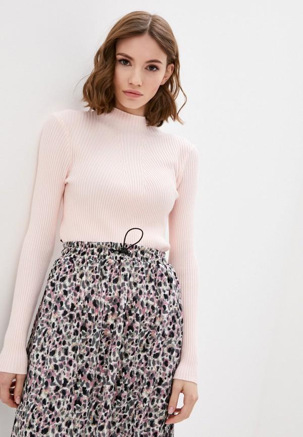 женская водолазка winzor, розовая