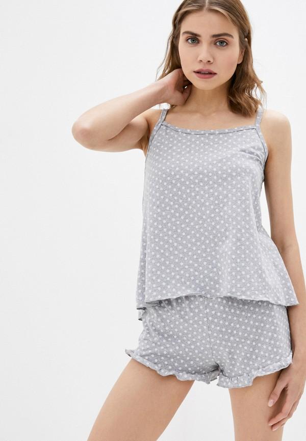 женская пижама winzor, серая