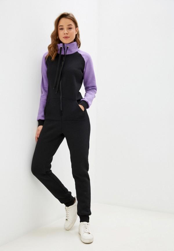 женский спортивные комбинезон winzor, фиолетовый