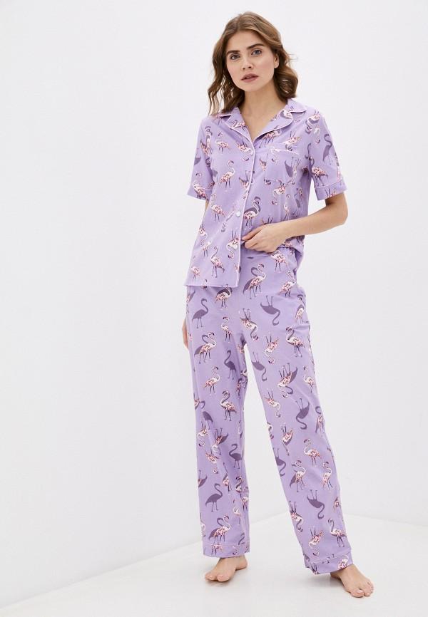 женская пижама winzor, фиолетовая