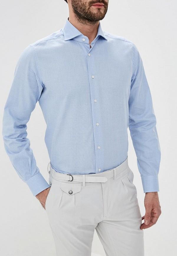 Фото - мужскую рубашку Windsor голубого цвета