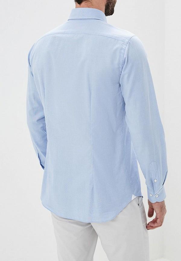 Фото 3 - мужскую рубашку Windsor голубого цвета