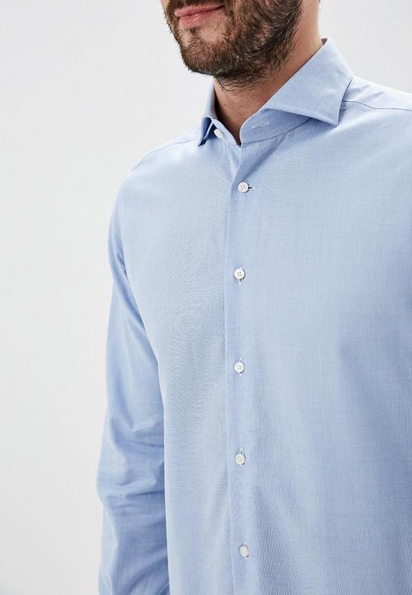 Фото 5 - мужскую рубашку Windsor голубого цвета