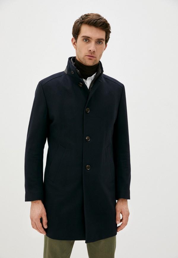 мужское пальто windsor, синее