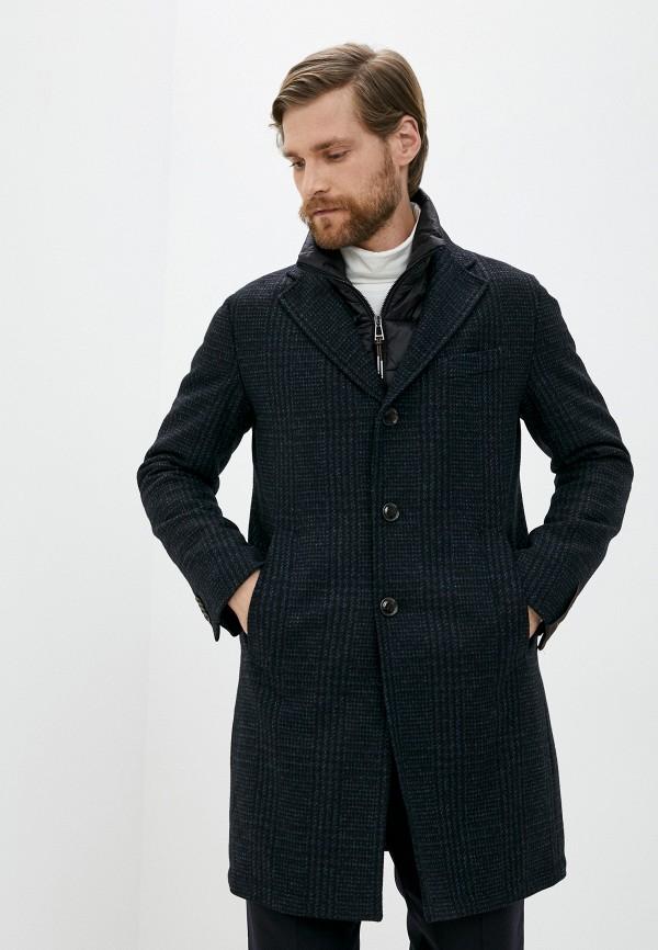мужское пальто windsor, черное
