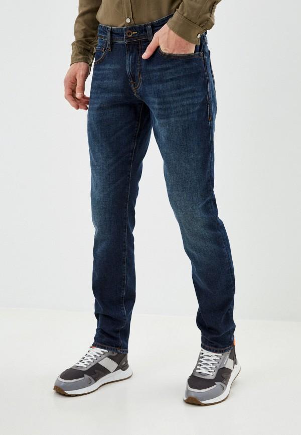 мужские зауженные джинсы windsor, синие