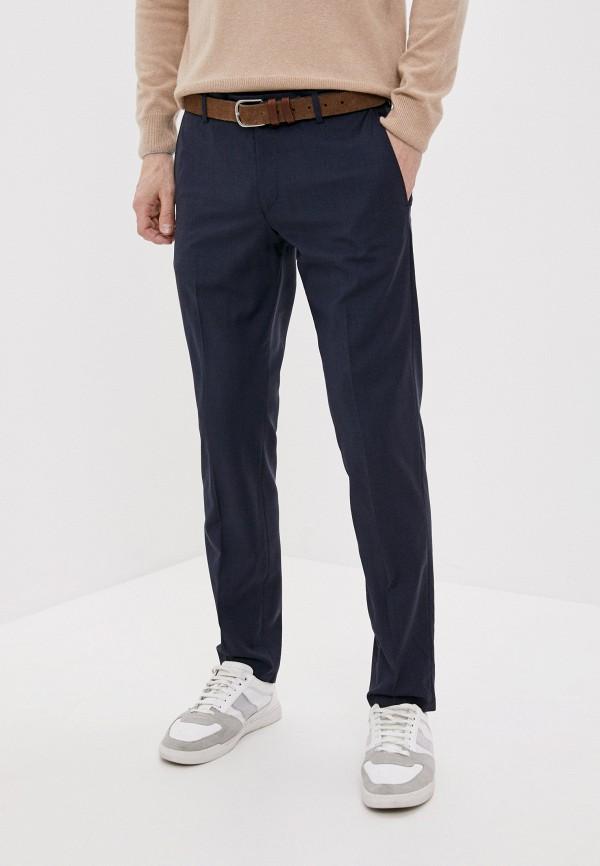 мужские классические брюки windsor, синие
