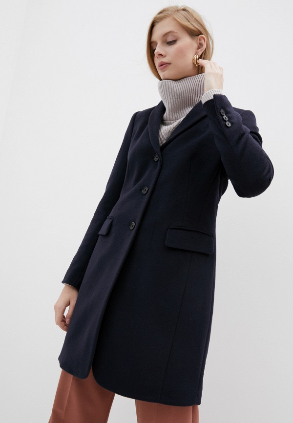 женское пальто windsor, синее