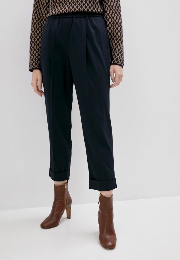 женские повседневные брюки windsor, синие