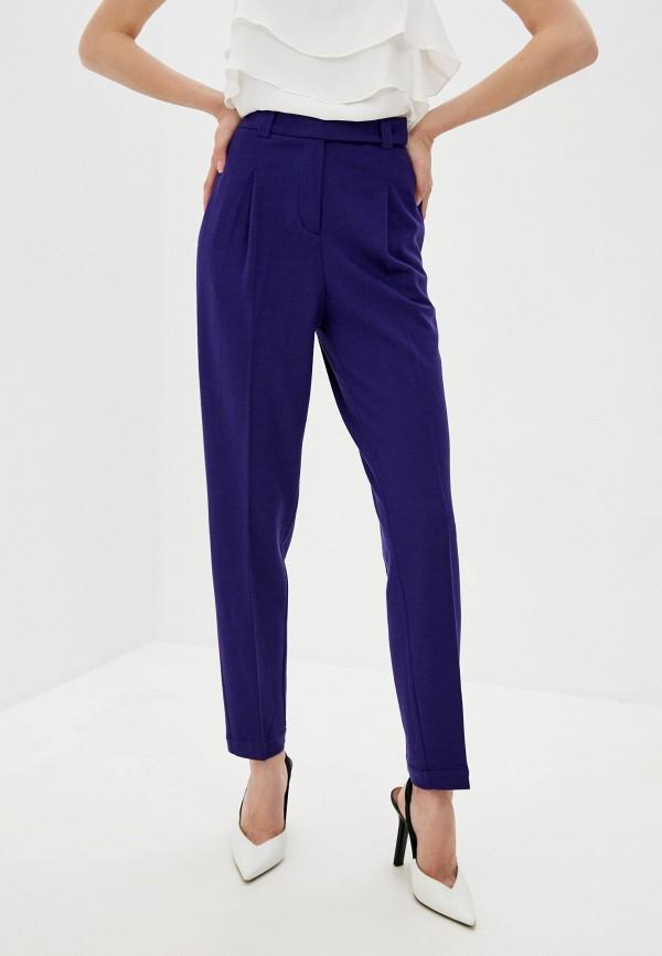 женские повседневные брюки windsor, фиолетовые