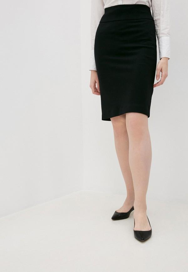 женская прямые юбка windsor, черная