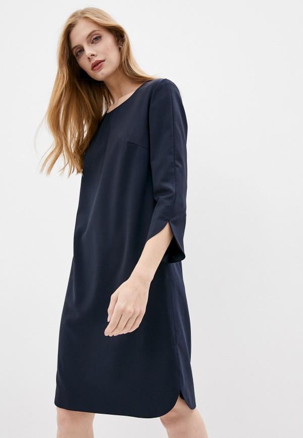 женское повседневные платье windsor, синее