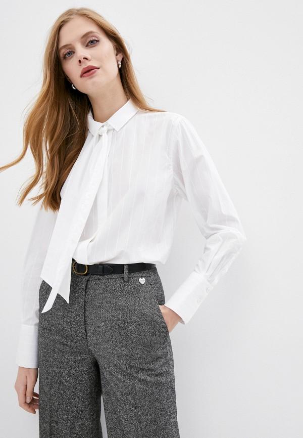 женская рубашка с длинным рукавом windsor, белая