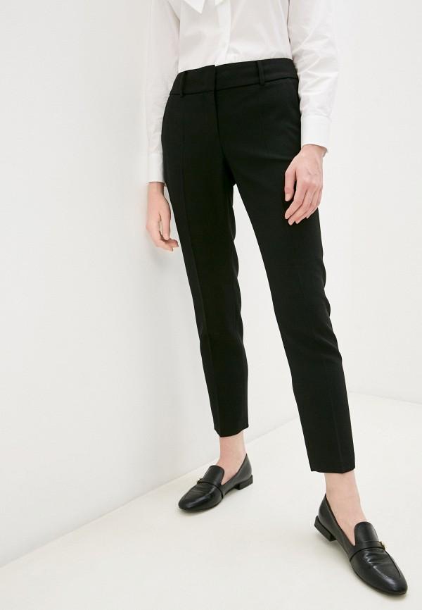 женские классические брюки windsor, черные