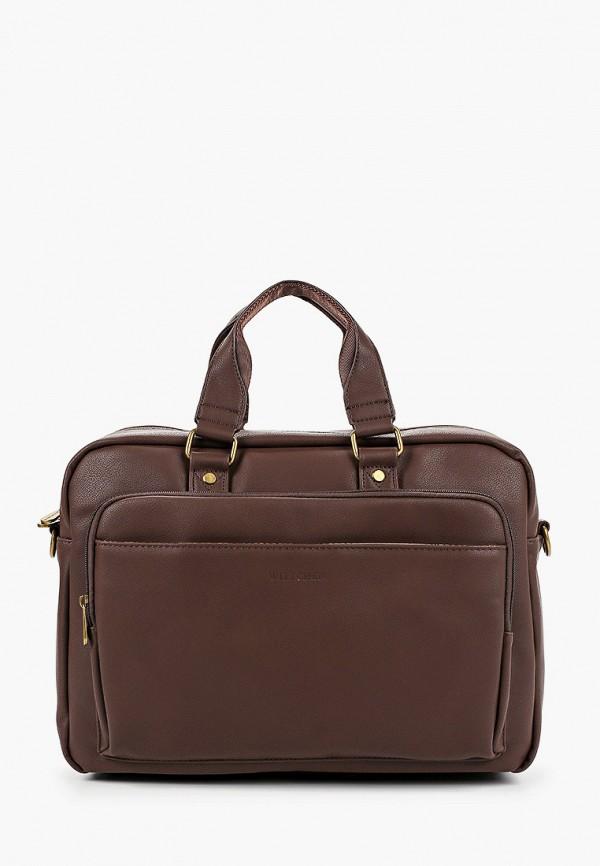 мужская сумка wittchen, коричневая