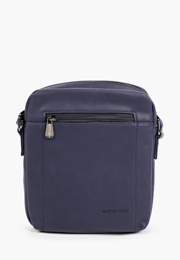 мужская сумка wittchen, синяя