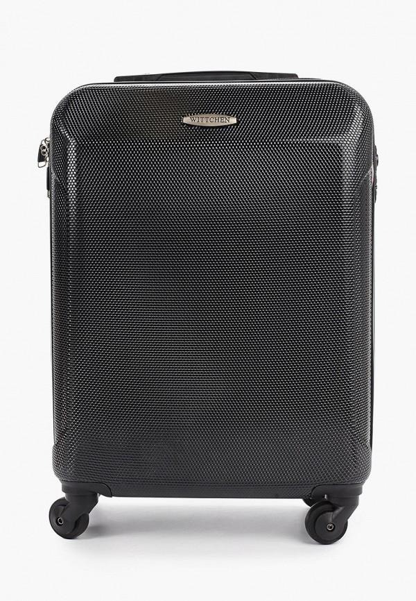 Чемодан Wittchen Wittchen WI014BUHCBX6 чемодан wittchen 56 3p 852 темно синий