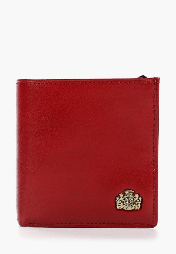 женский кошелёк wittchen, красный
